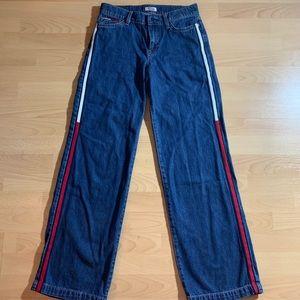 Tommy Hilfiger wide leg vintage jeans